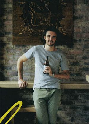 Chef patron Thomas Hughes of Jozi's favourite gastropub, The Griffin