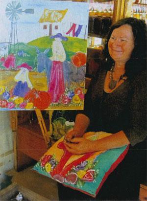 Paddavlei Kunsgoete is Marilise Lombard's eclectic shop and studio.