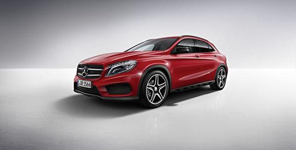 The Mercedes Benz GLA reinterprets the compact SUV segment in convincing style
