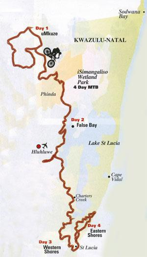 MTB Trails in iSimangaliso Wetland Park