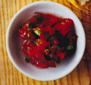Tomato and Coriander Salsa