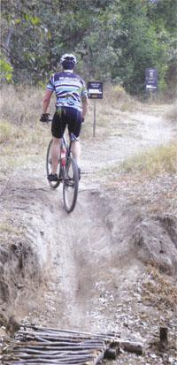 Plenty of fun to be had onthe purpose built singletrack
