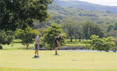 The 18 hole Sabie River Bungalows Golf Course