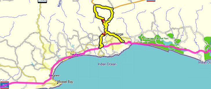 South Africa » Blog Archive » Self Drive 1 Route from Cape