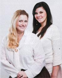Jani Venter and her sister, Chrisna Rex