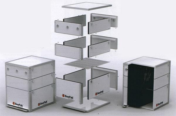 For Aberdeen, producing the actual hive components was easy, as was building a virtually indestructible, completely sealed, weatherproof box (along with a stainless steel outer interlocking frame, fastened together by screws). The complete BeePak hive (including frames) weighs a mere 17 kg. Projected lifespan: a formidable 50 years.