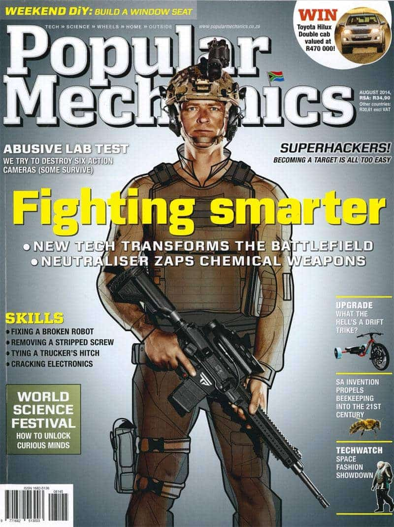 Popular Mechanics August 2014