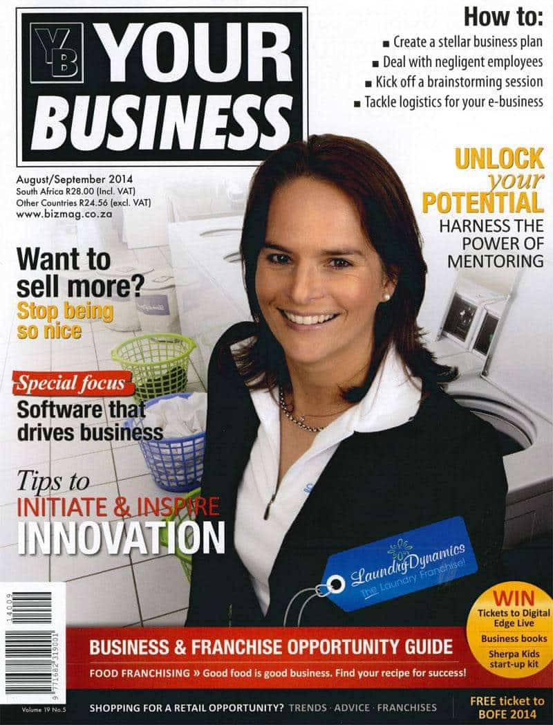 Your Business Magazine  Aug/Sept 2014