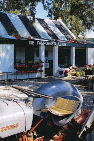 Pumpkins grown on the farm are turned into sweet and savoury treats at Pampoenstalletjie.