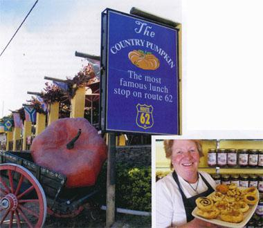 The Country Pumpkin was the first pit stop on Barrydale's busy Route 62 strip. Terri Williams, owner of The Jam Tarts, jokes she's the queen of tarts in Barrydale.