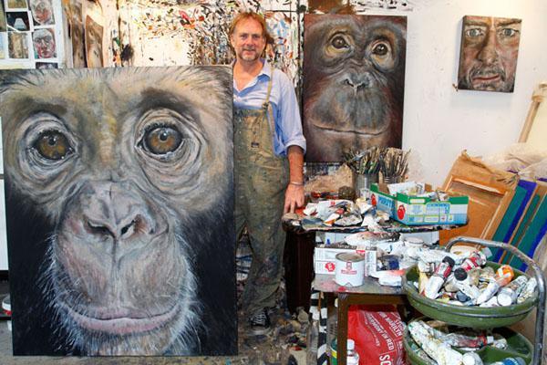 Ape Paintings