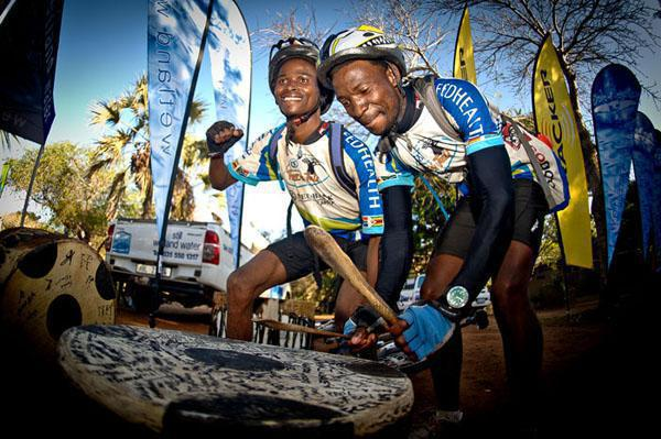 Mbusi Motsa (Swaziland) who is a social rider who calls himself a 'weekend warrior' and spends many hours cycling through Swaziland's protected and rural areas, Michael Ndwandwe