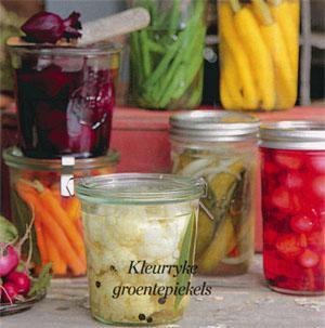 Kleurryke groentepiekels