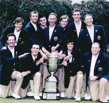 Rickie Fowler was part of the winning US team in the 2007 Walker Cup. Recognise anyone else?
