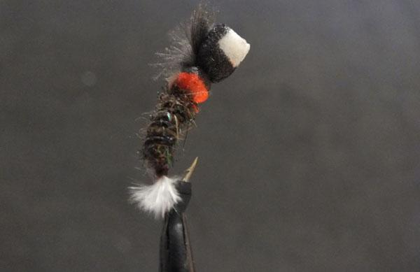 Suspender buzzer fly pattern.