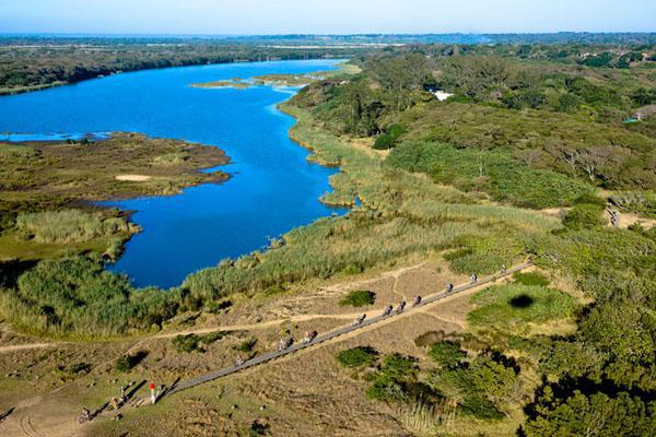 It was at iSimangaliso's spectactular kuMziki lookout point, which provides a unique view of both Lake St Lucia and the Indian Ocean