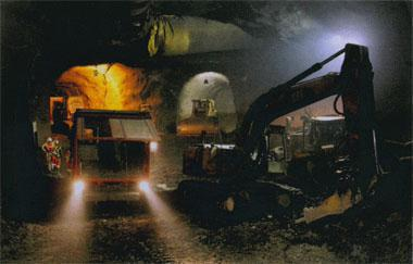 A staggering 3 million m3 of mud rock had to be excavated to house Ingula's main underground works and tunnels.