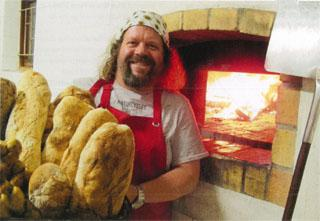 Artisan baker Michael Amos of Delish