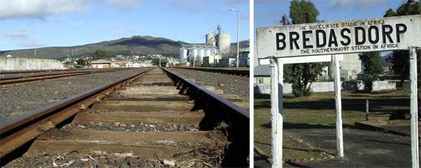 Go back in time - trace the train tracks at the Southernmost Train station in Africa