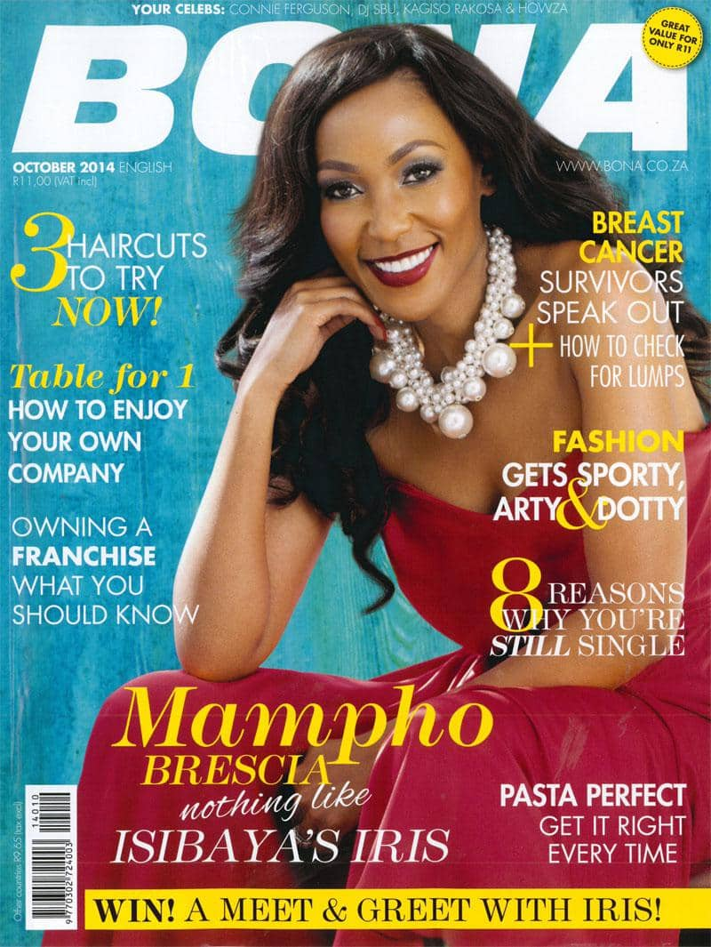 October 2014 Bona Magazine