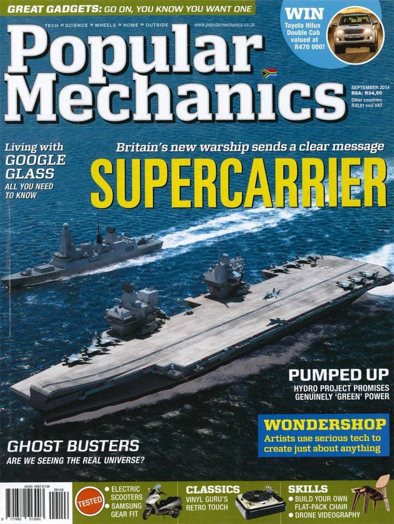 Popular Mechanics September 2014