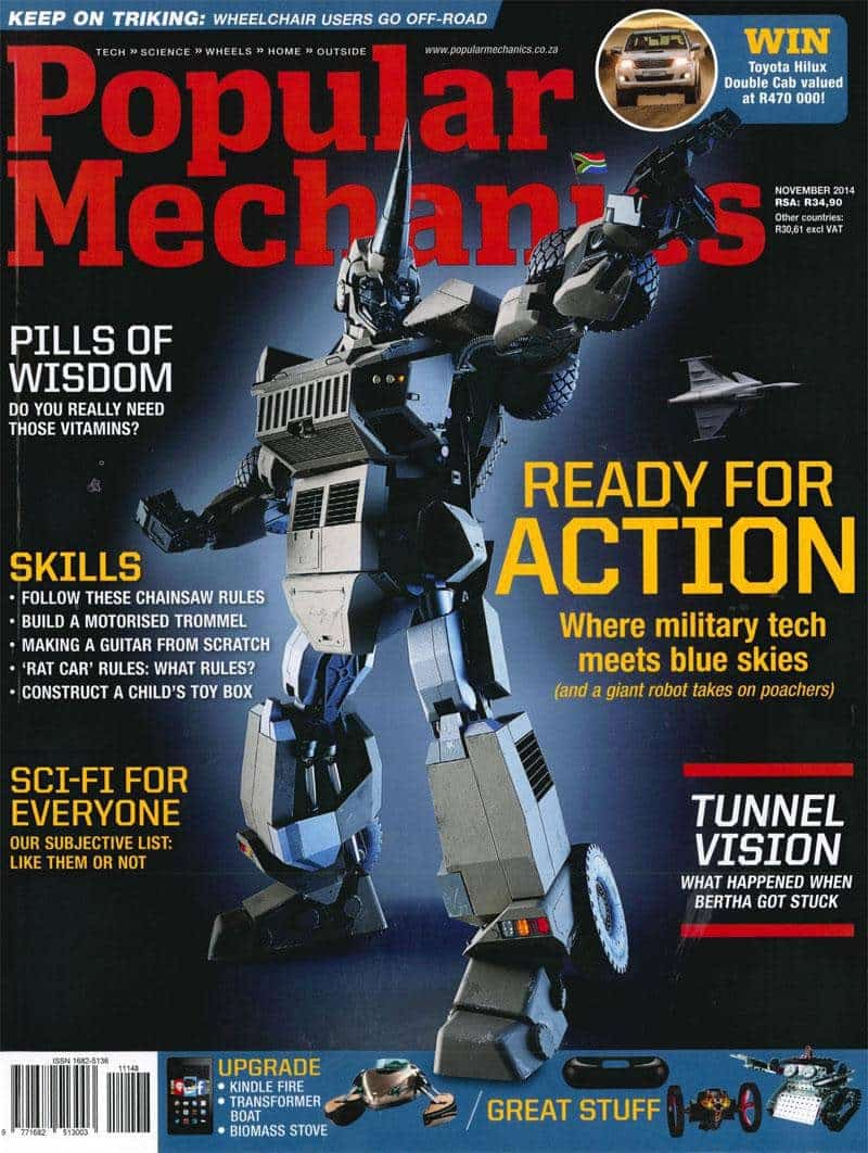 Popular Mechanics November 2014