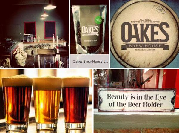 Oakes Brew House, lunch in johannesburg
