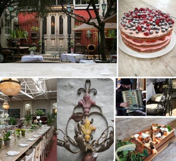 Il Giardino, lunch in johannesburg, food