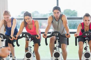 If your knees hurt, opt for something that is a little less harsh on the knees, like stationary cycling or swimming.