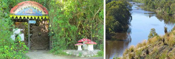 The Continent of Sulina - Swellendam's Faery and Angel healing Sancturay.  Breede River outside Swellendam