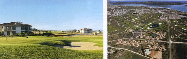 Houses rarely come into play, but there is out of bounds on most holes at Langebaan.  After a slow start, Langebaan Country Estate is now a success story, with more phases set to open