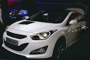 Hyundai I40 48V Hybrid