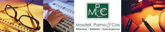 Visit Mosdell Pama & Cox Website