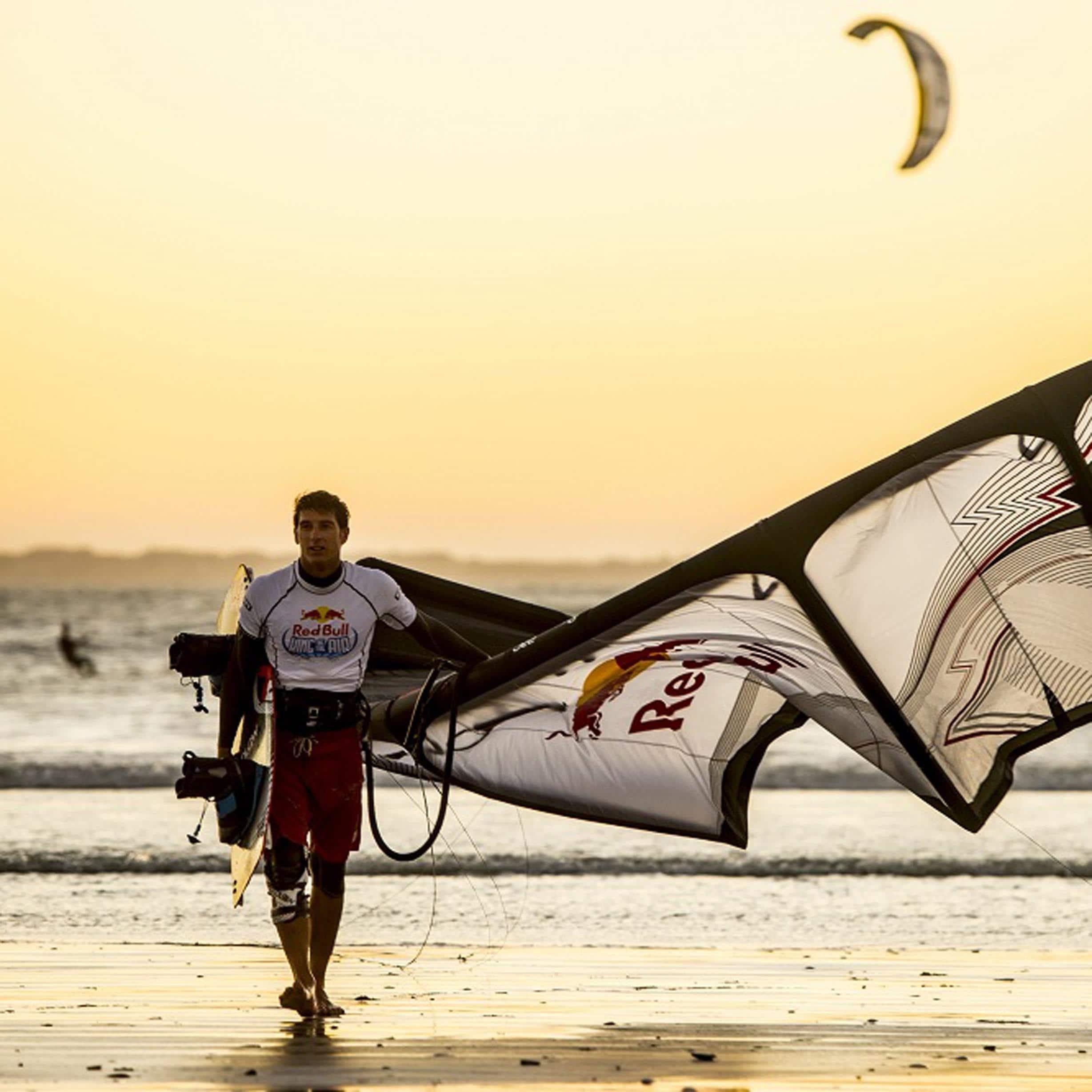 Meet kiteboarding legend Aaron Hadlow