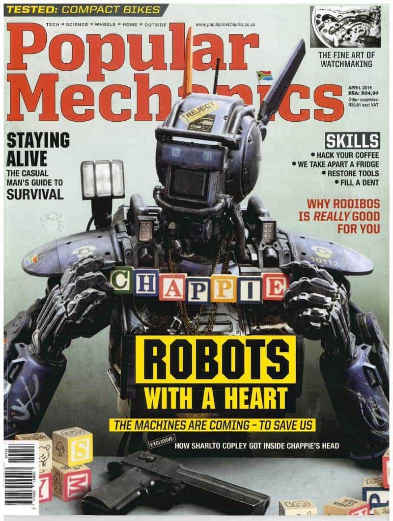 Popular Mechanics May 2015
