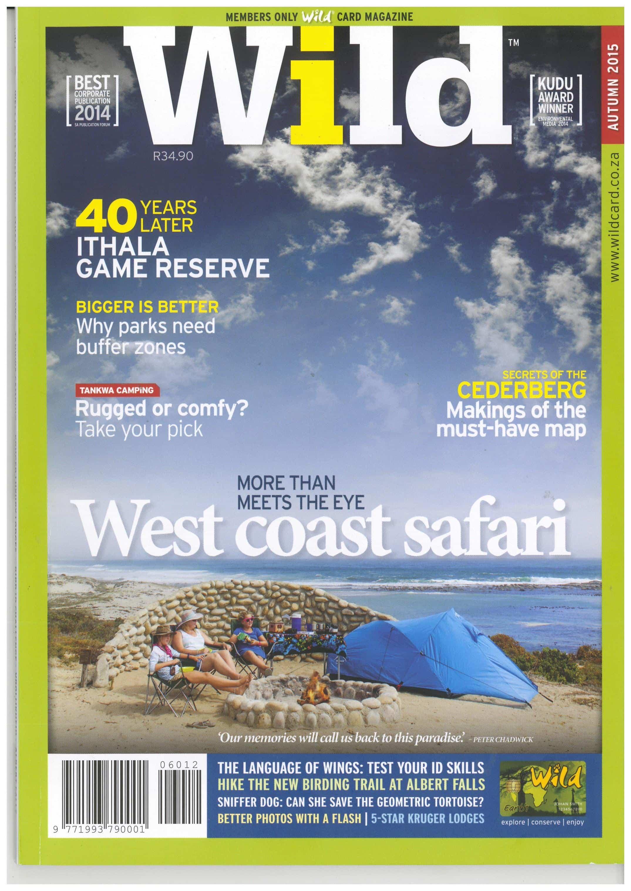 Wild Magazine Winter 2015