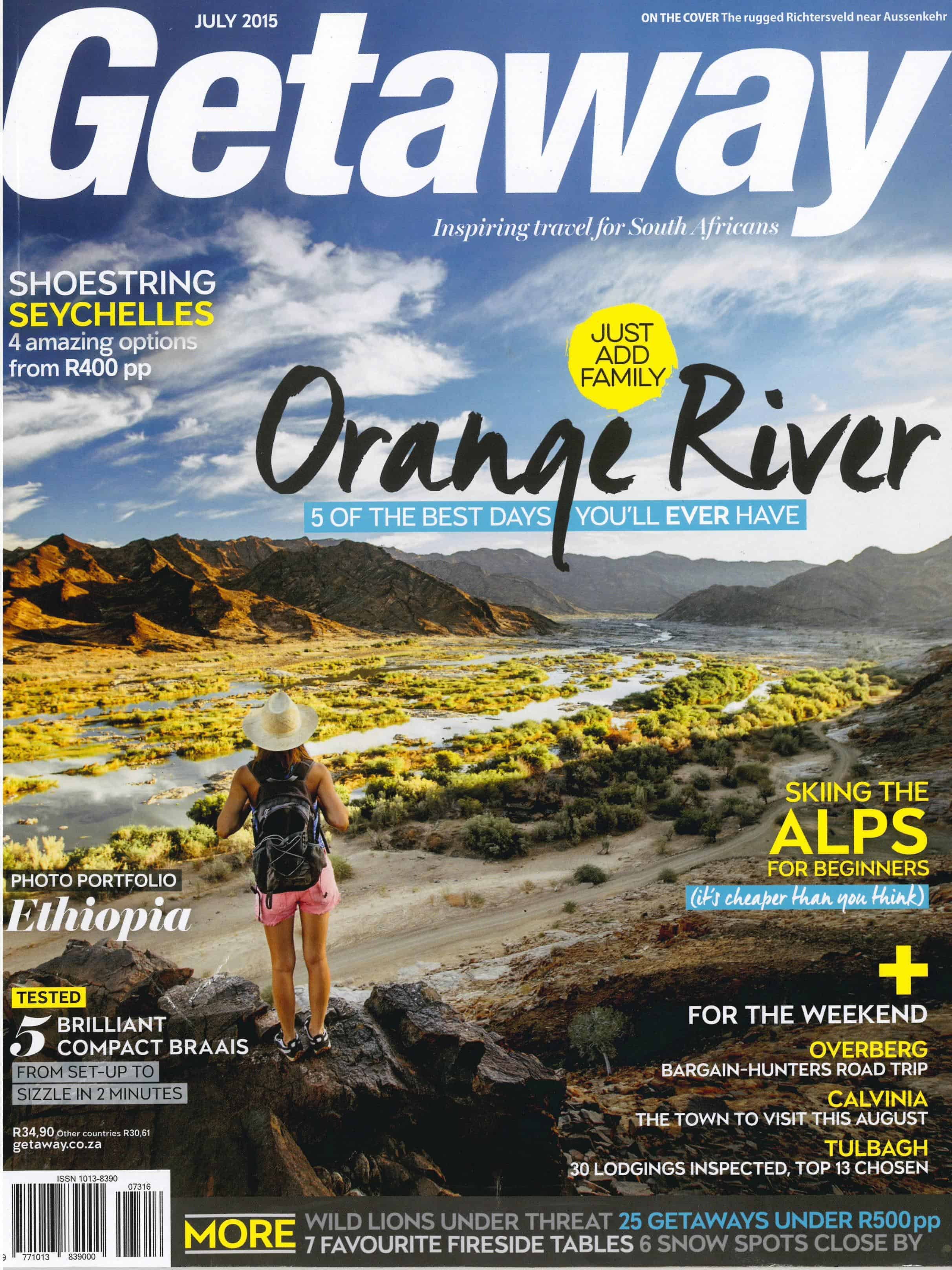 Getaway Magazine July 2015