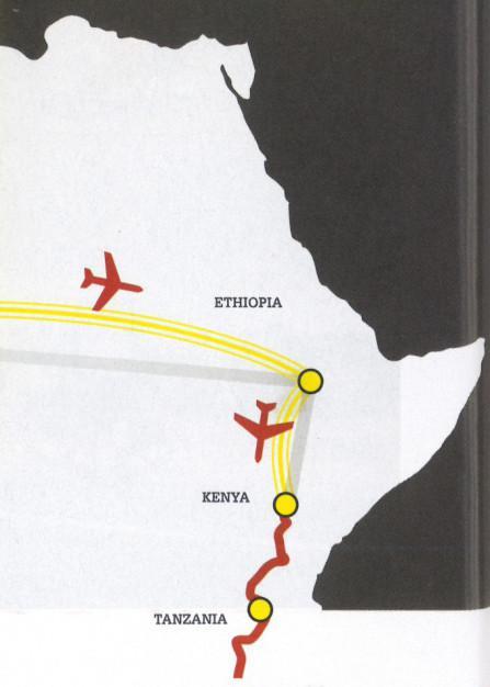 Tanzania Route