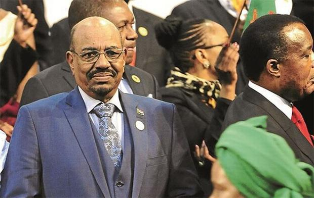 Omar al-Bashir: Wanted for genocide and war crimes. Picture: Picture: SOWETAN