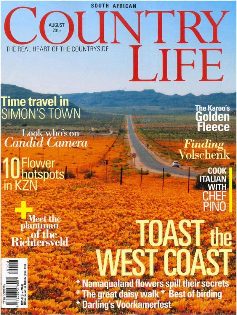 Country life August 2015