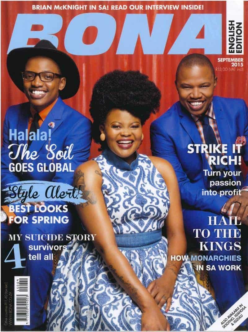 September 2015 Bona Magazine