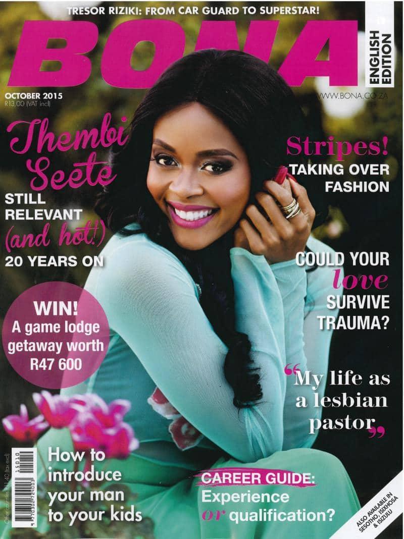 October 2015 Bona Magazine