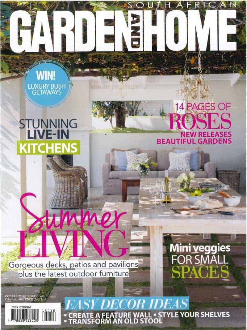 garden and home October 2015