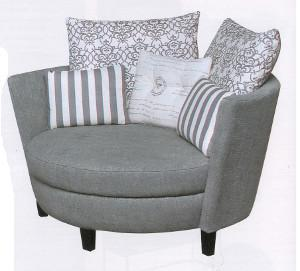 Enjoy Some Me Time In The Nest Chair From Grafton Everest. Itu0027s Perfect For  Cosying Up With A Good Book, And The Curved Lines And Large Proportions Add  An ...
