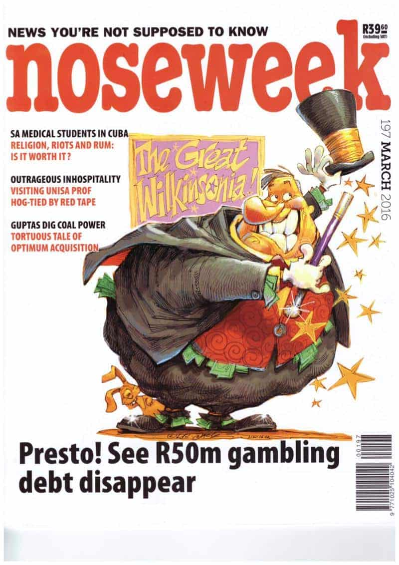 noseweek March 2016