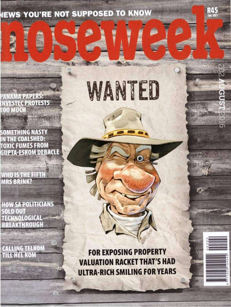 noseweek August 2016