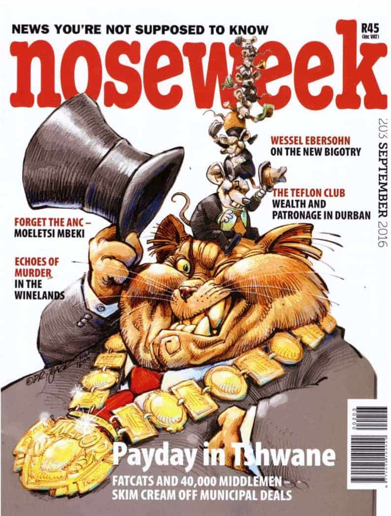 noseweek September 2016