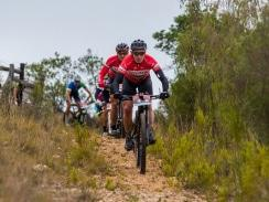 Caption: Last year's third place finishers Joel Stransky and Andrew Mclean will be fit for the PwC Great Zuurberg Trek despite both suffering injuries in the build-up. Photo: Warren Elsom