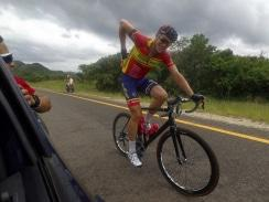 Caption: Bradley Potgieter, of RoadCover, won the 27th Kremetart Tour in Louis Trichardt last year. Photo: Nic White