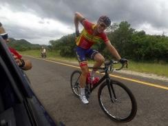 Caption: Bradley Potgieter, of RoadCover, won the 27th Kremetart Tour in Louis Trichardt last year. Photo: Nic White